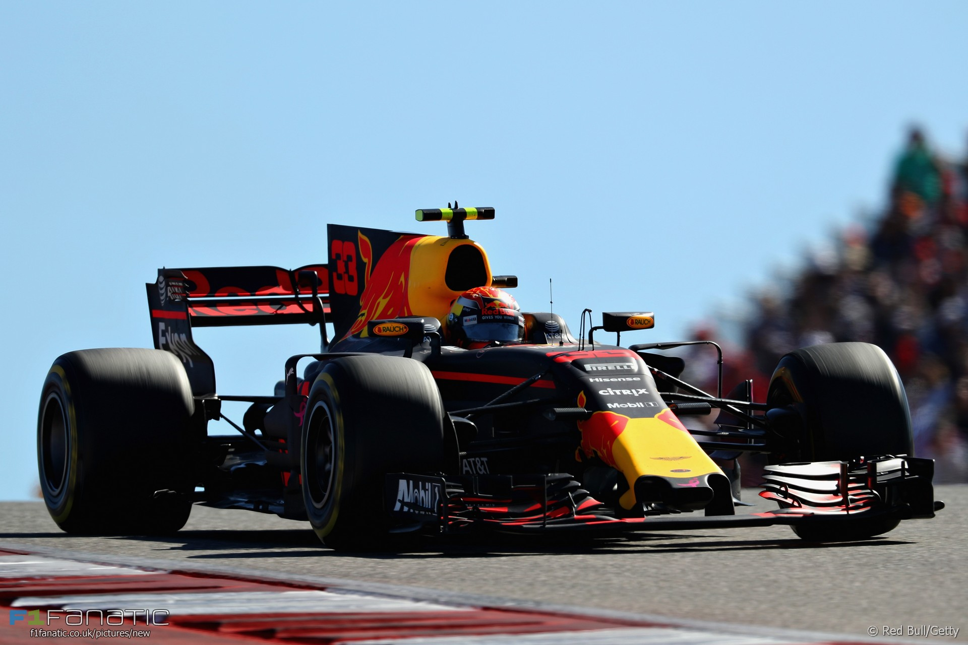 Max Verstappen, Red Bull, Circuit of the Americas, 2017