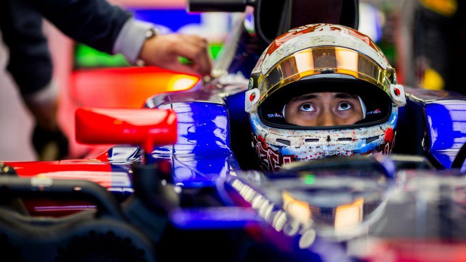 Sean Gelael, Toro Rosso, Autodromo Hermanos Rodriguez, 2017
