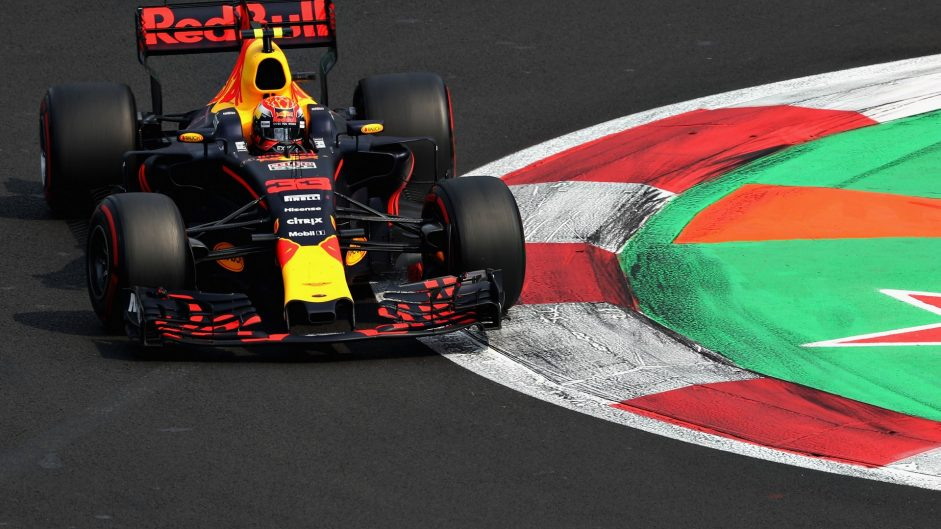 Max Verstappen, Red Bull, Autodromo Hermanos Rodriguez, 2017