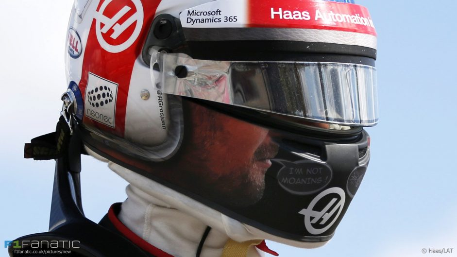 """Grosjean told to """"shut up"""" after asking Haas to retire his car"""