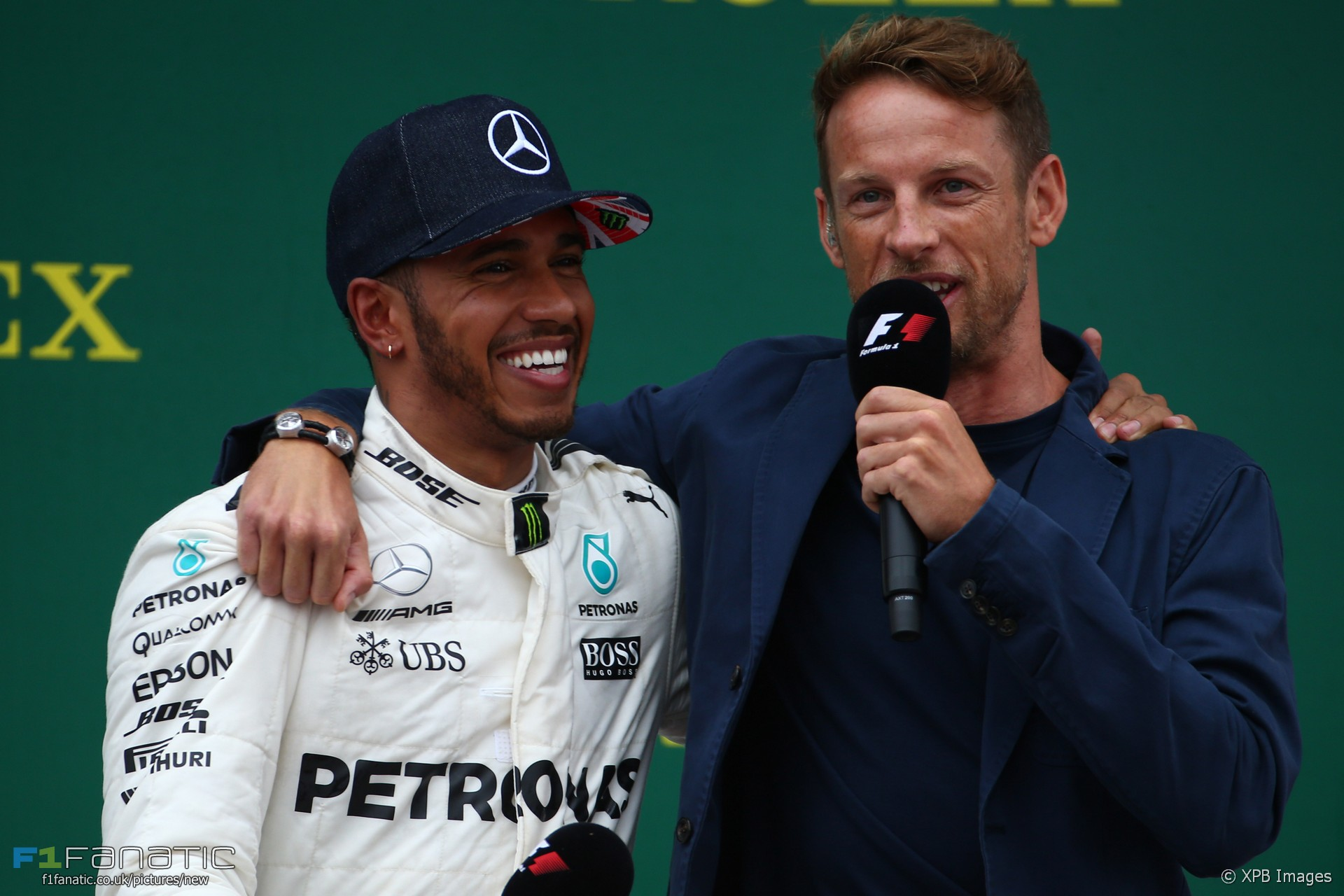 Lewis Hamilton, Jenson Button, Silverstone, 2017
