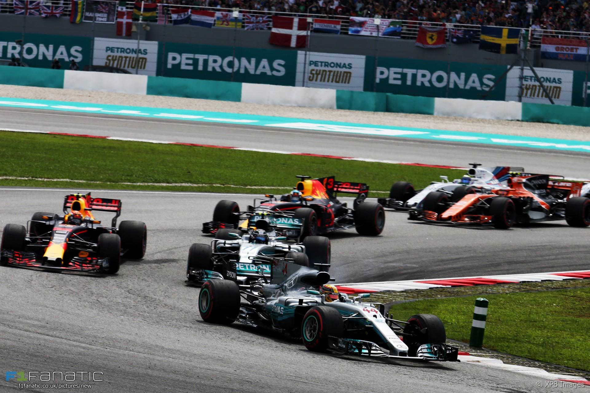 Start, Sepang International Circuit, 2017