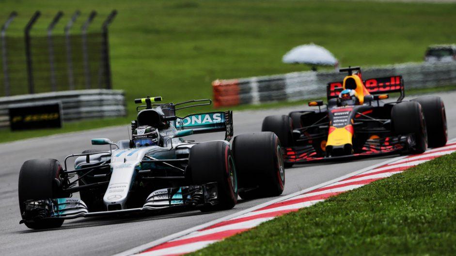 Valtteri Bottas, Mercedes, Sepang International Circuit, 2017