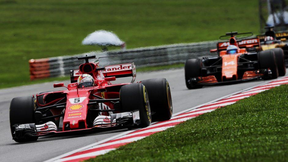 Sebastian Vettel, Ferrari, Sepang International Circuit, 2017