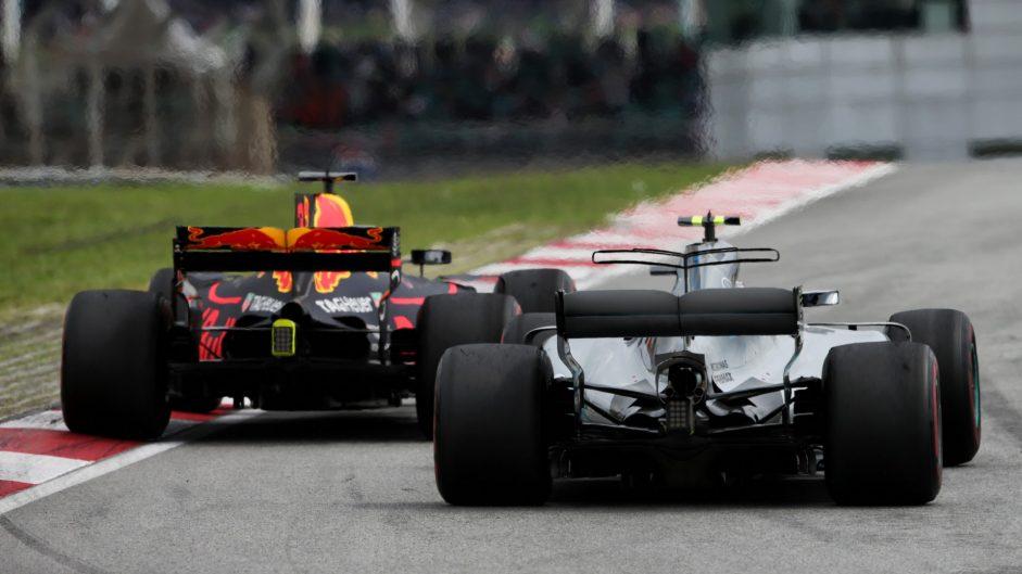 Daniel Ricciardo, Valtteri Bottas, Sepang International Circuit, 2017