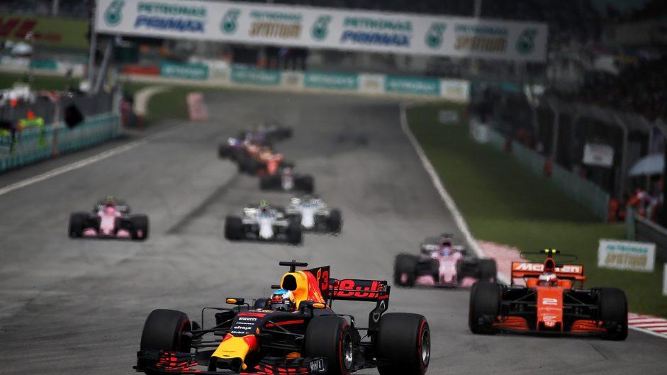 Daniel Ricciardo, Red Bull, Sepang International Circuit, 2017