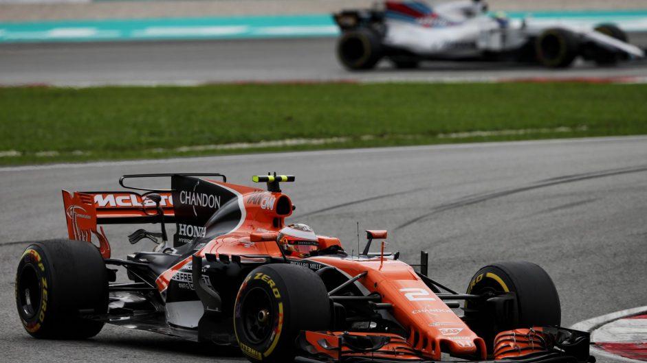Stoffel Vandoorne, McLaren, Sepang International Circuit, 2017