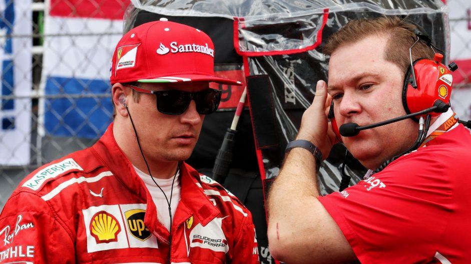 Kimi Raikkonen, Dave Greenwood, Sepang International Circuit, 2017