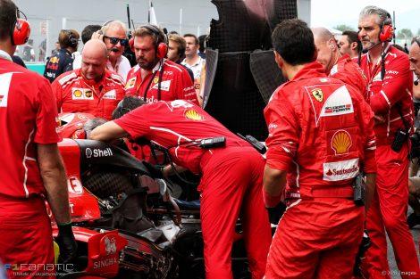 Kimi Raikkonen, Ferrari, Sepang International Circuit, 2017