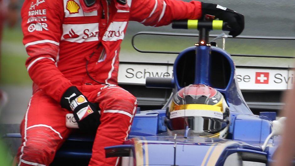 Sebastian Vettel, Pascal Wehrlein, Sepang International Circuit, 2017