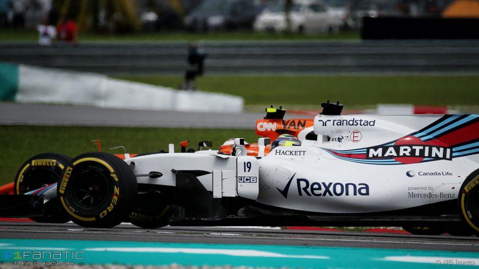 Felipe Massa, Stoffel Vandoorne, Sepang International Circuit, 2017
