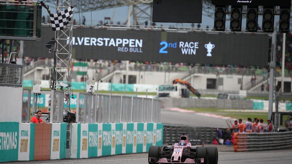 Sergio Perez, Force India, Sepang International Circuit, 2017