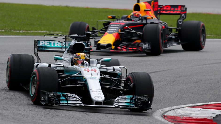 Lewis Hamilton, Max Verstappen, Sepang International Circuit, 2017