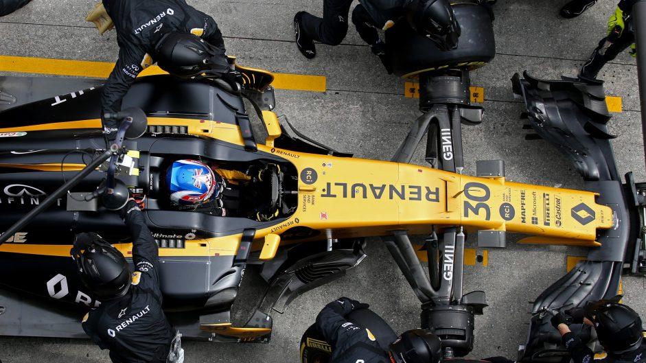 Jolyon Palmer, Renault, Sepang International Circuit, 2017