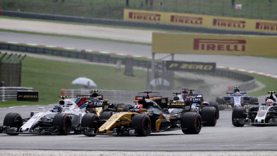 Nico Hulkenberg, Renault, Sepang International Circuit, 2017