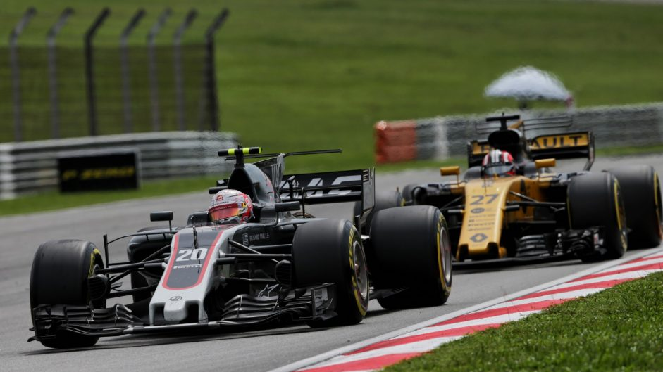 Kevin Magnussen, Haas, Sepang International Circuit, 2017