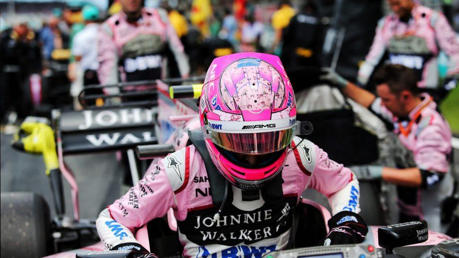 Esteban Ocon, Force India, Sepang International Circuit, 2017