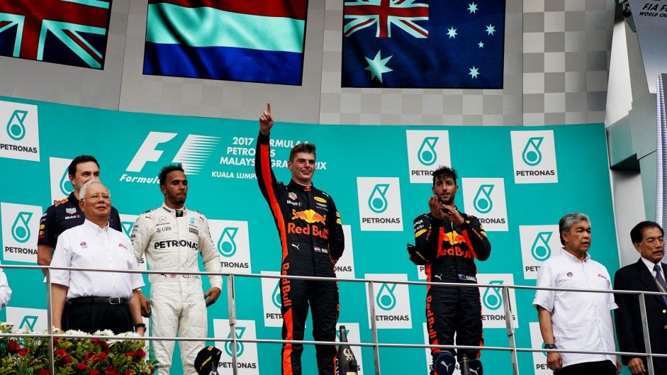 2017 Malaysian Grand Prix Predictions Championship results