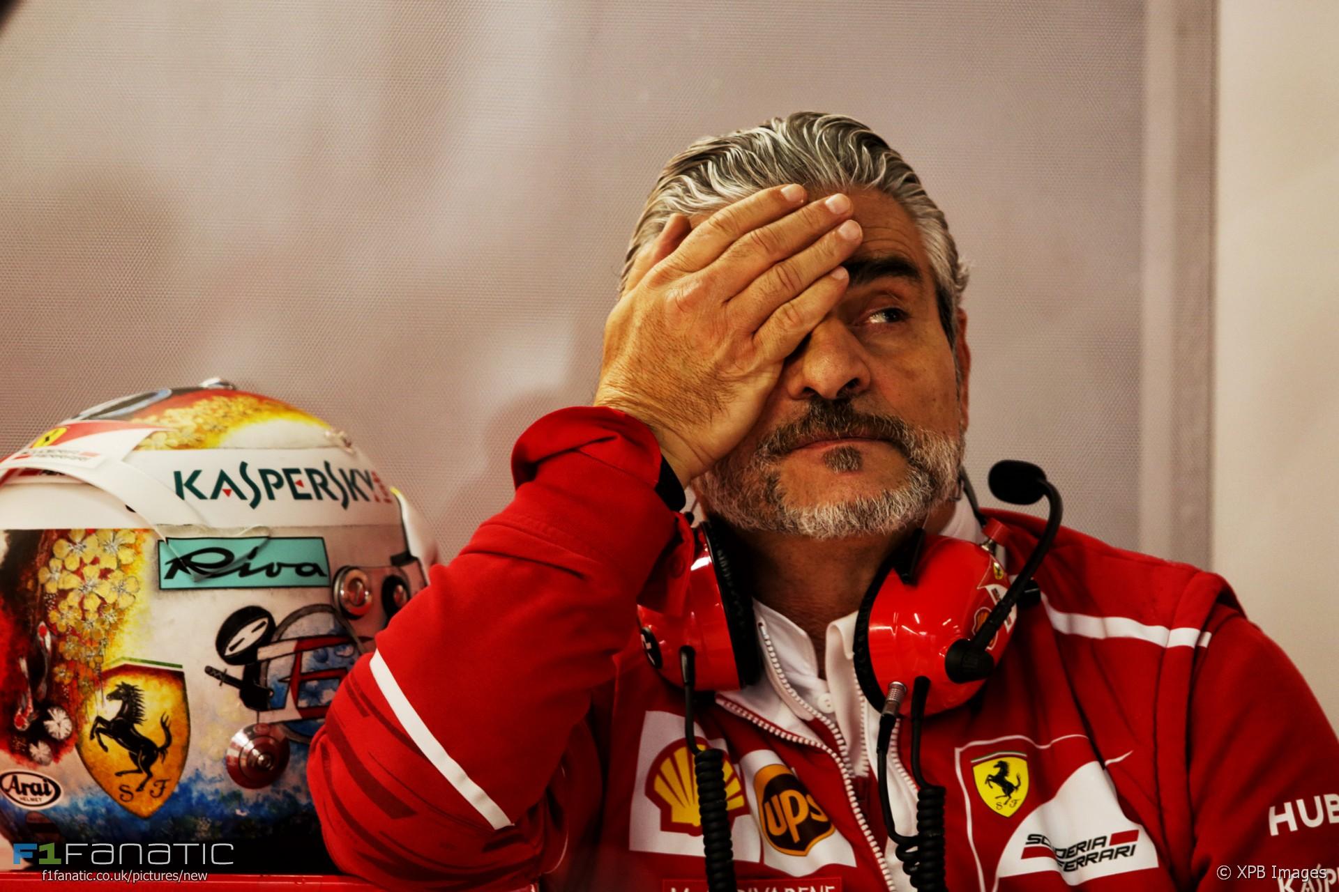 Maurizio Arrivabene, Ferrari, Suzuka, 2017