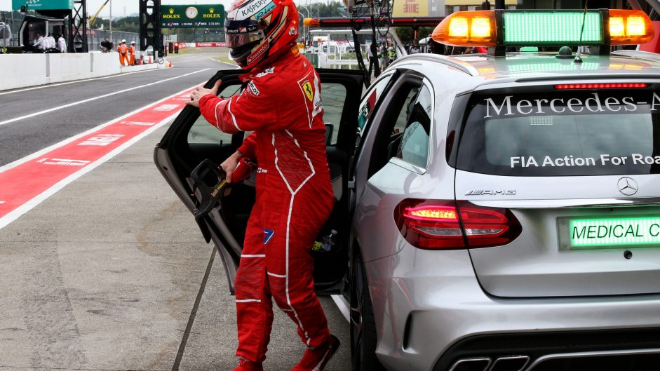 Kimi Raikkonen, Ferrari, Suzuka, 2017