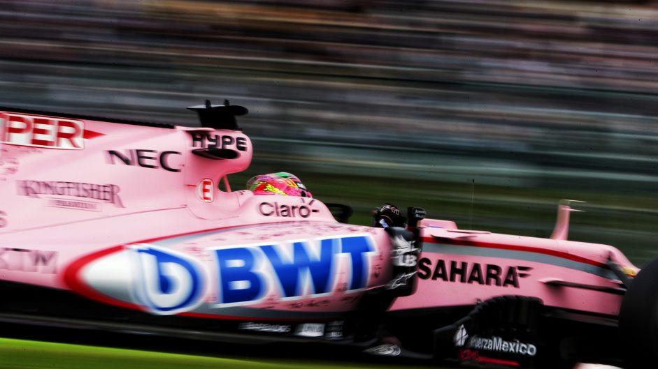 Sergio Perez, Force India, Suzuka, 2017