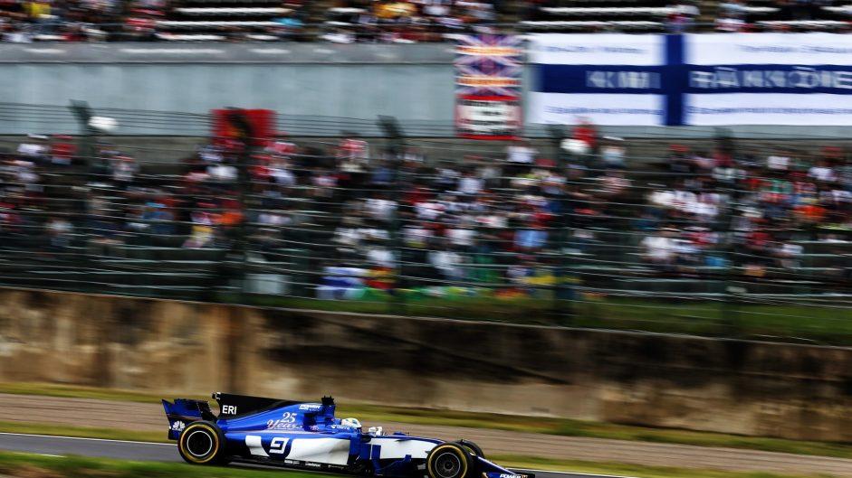 Marcus Ericsson, Sauber, Suzuka, 2017