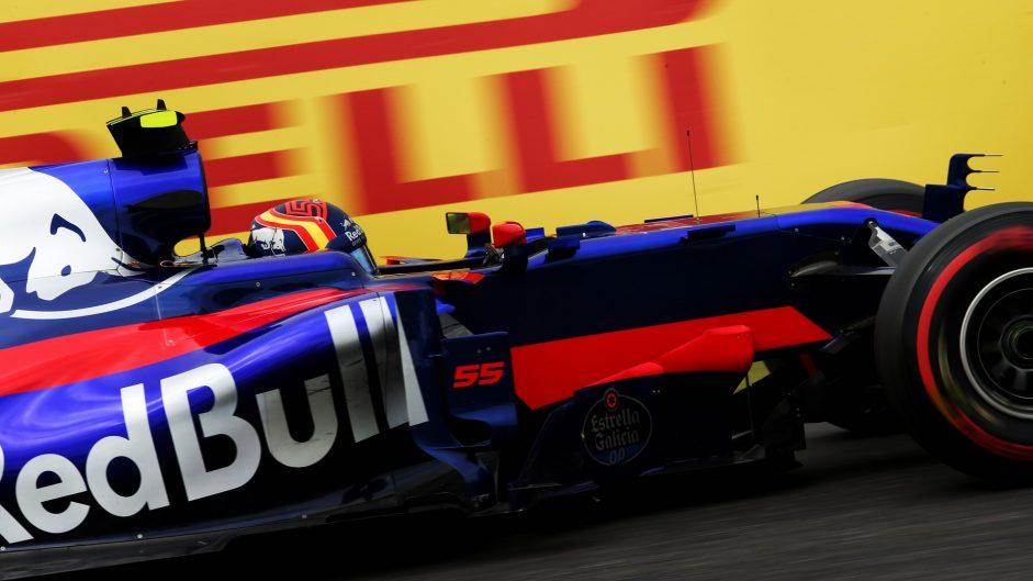 Carlos Sainz Jnr, Toro Rosso, Suzuka, 2017