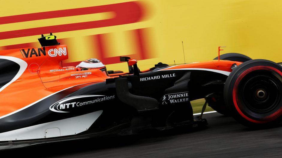 Stoffel Vandoorne, McLaren, Suzuka, 2017