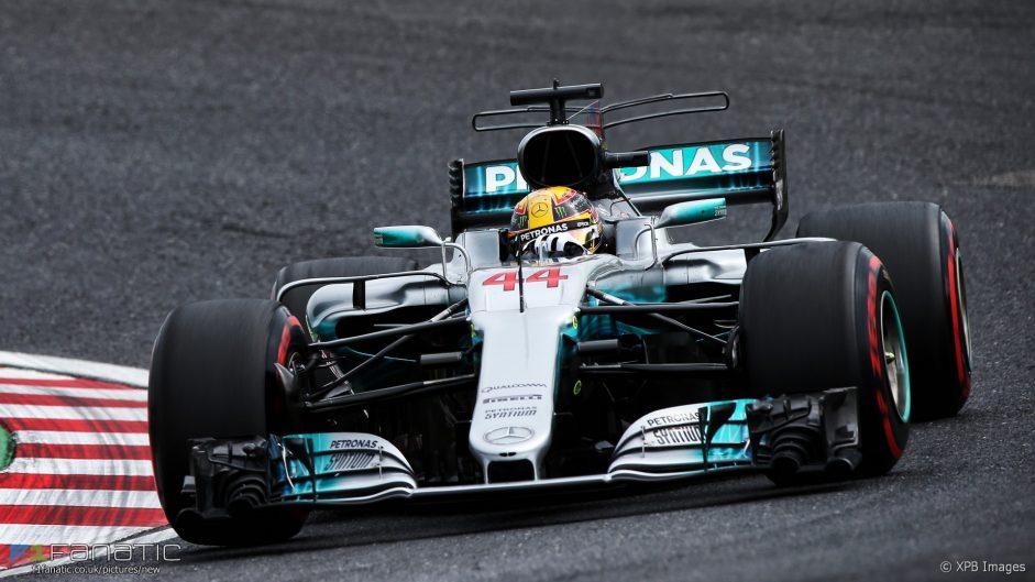 Hamilton takes first Suzuka pole position as he dominates qualifying
