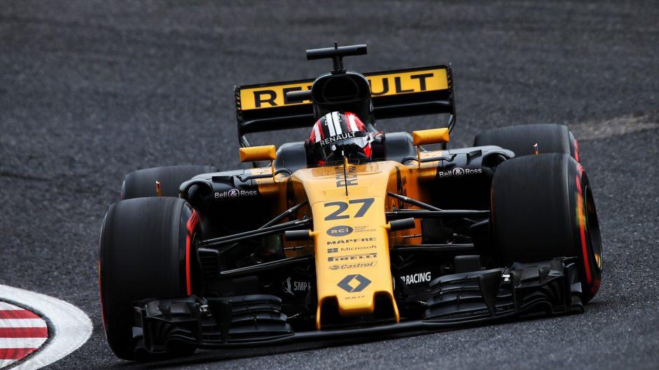 Nico Hulkenberg, Renault, Suzuka, 2017