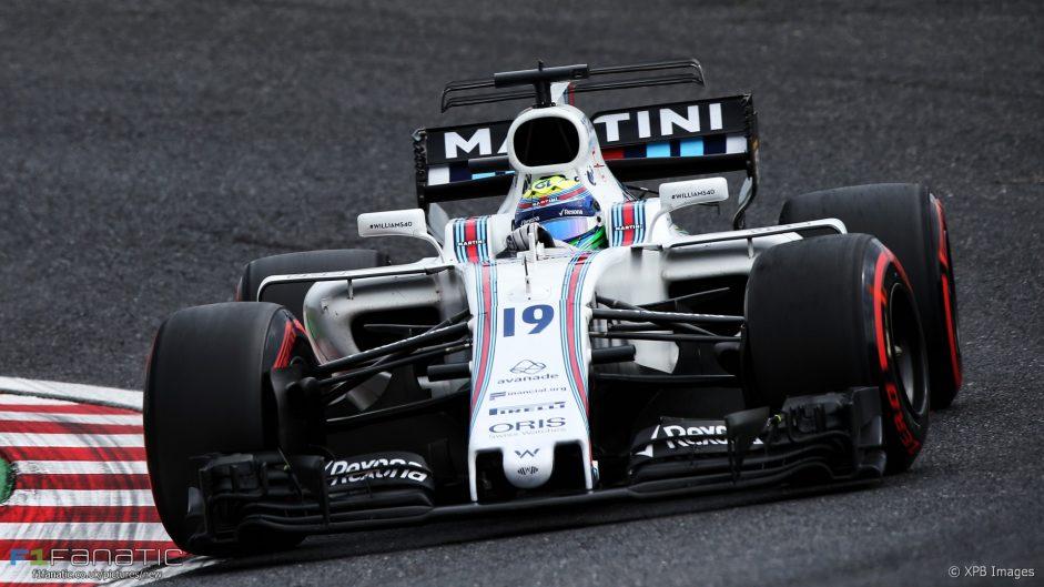 Massa explains why he got between Hamilton and Verstappen