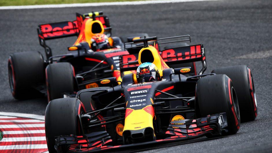 Daniel Ricciardo, Red Bull, Suzuka, 2017