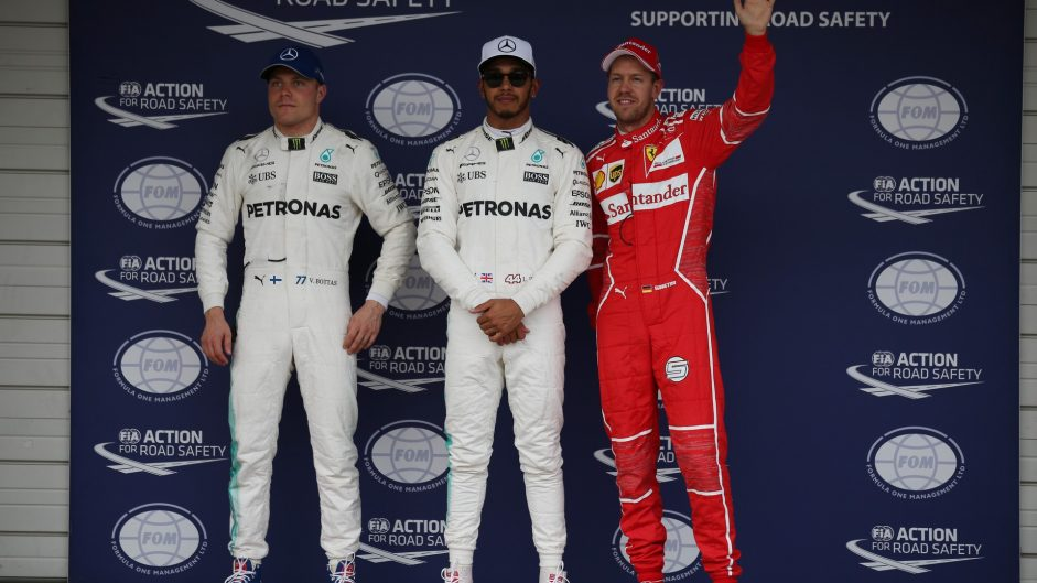 Valtteri Bottas, Lewis Hamilton, Sebastian Vettel, Suzuka, 2017