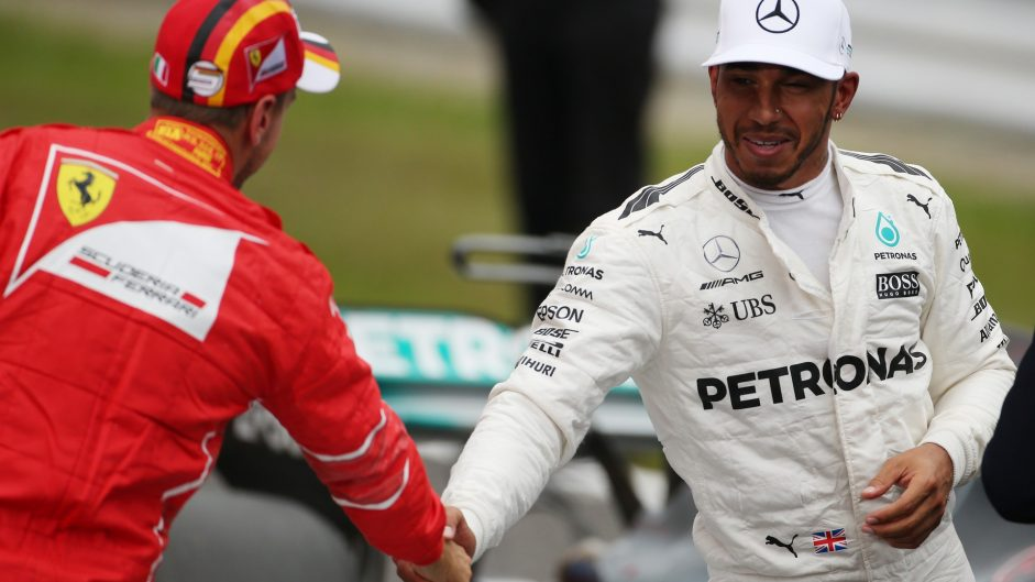 Sebastian Vettel, Lewis Hamilton, Suzuka, 2017