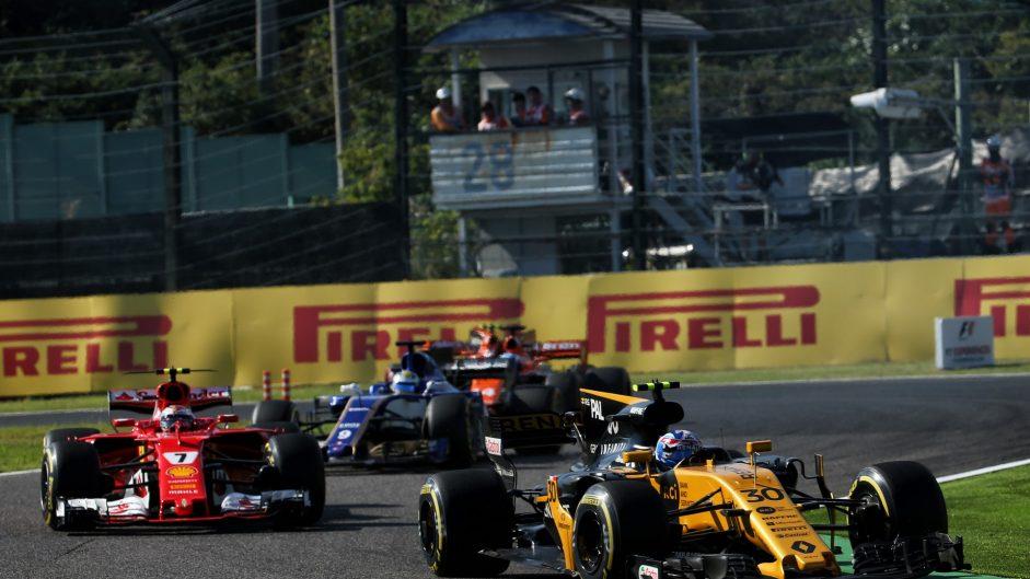 Jolyon Palmer, Renault, Suzuka, 2017