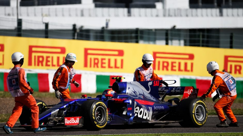 Sainz admits he risked too much on last start for Toro Rosso