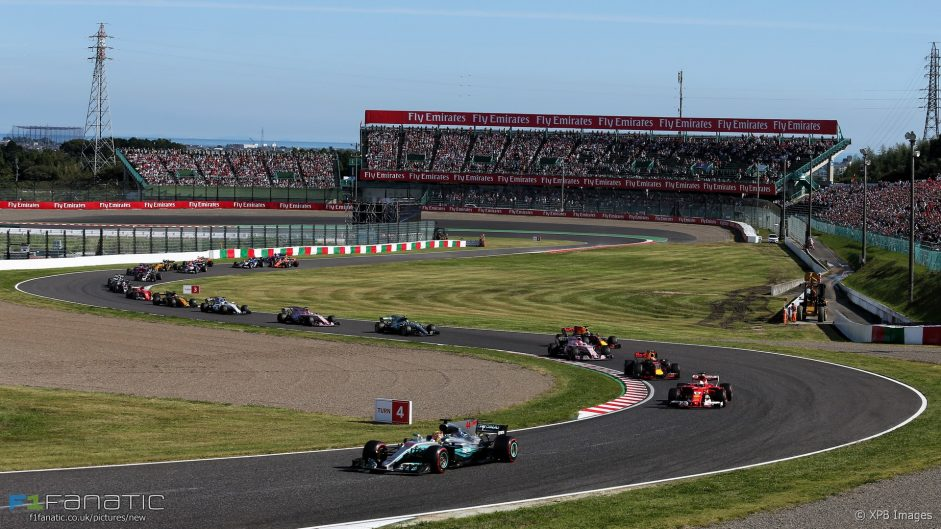 Vote for your 2017 Japanese Grand Prix Driver of the Weekend