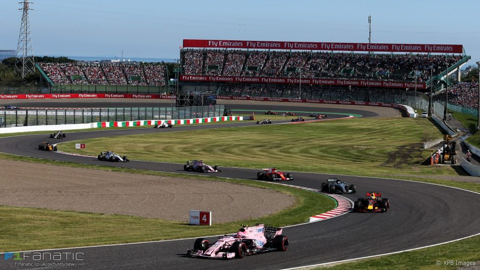 F1 may look at using more grass and gravel run-offs
