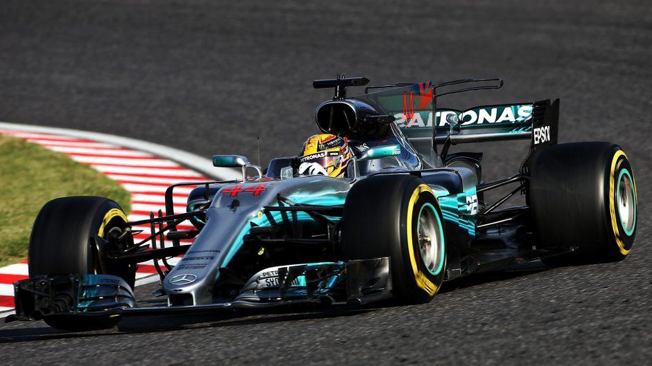 Lewis Hamilton, Mercedes, Suzuka, 2017