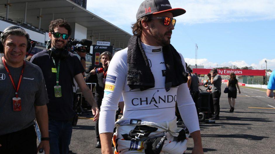 Fernando Alonso, McLaren, Suzuka, 2017