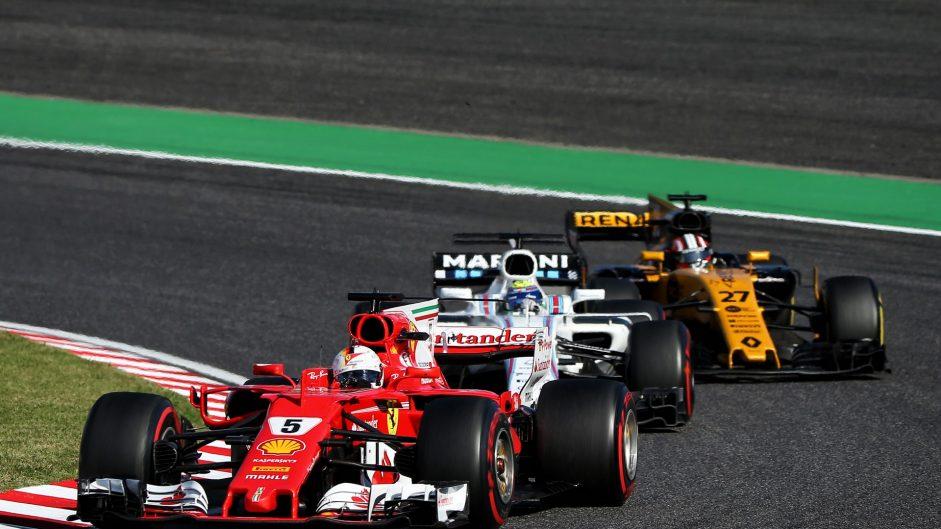 Sebastian Vettel, Ferrari, Suzuka, 2017