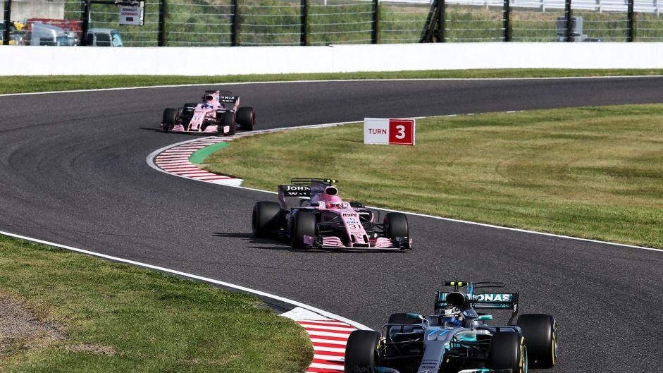 Valtteri Bottas, Mercedes, Suzuka, 2017