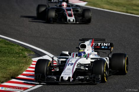 Felipe Massa, Williams, Suzuka, 2017