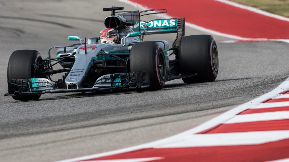 Hamilton completes practice sweep in Austin
