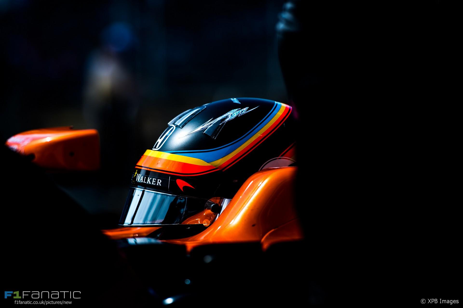 Fernando Alonso, McLaren, Circuit of the Americas, 2017