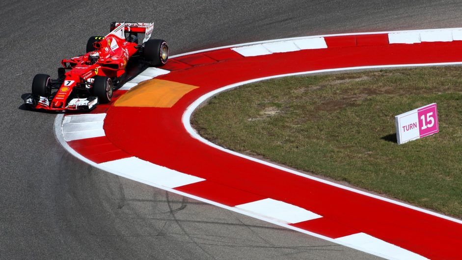 Raikkonen takes consolation from starting on the clean side