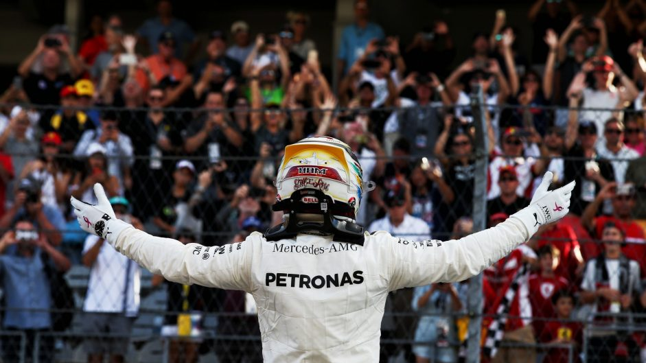 Hamilton dominates qualifying but Vettel joins him on the front row