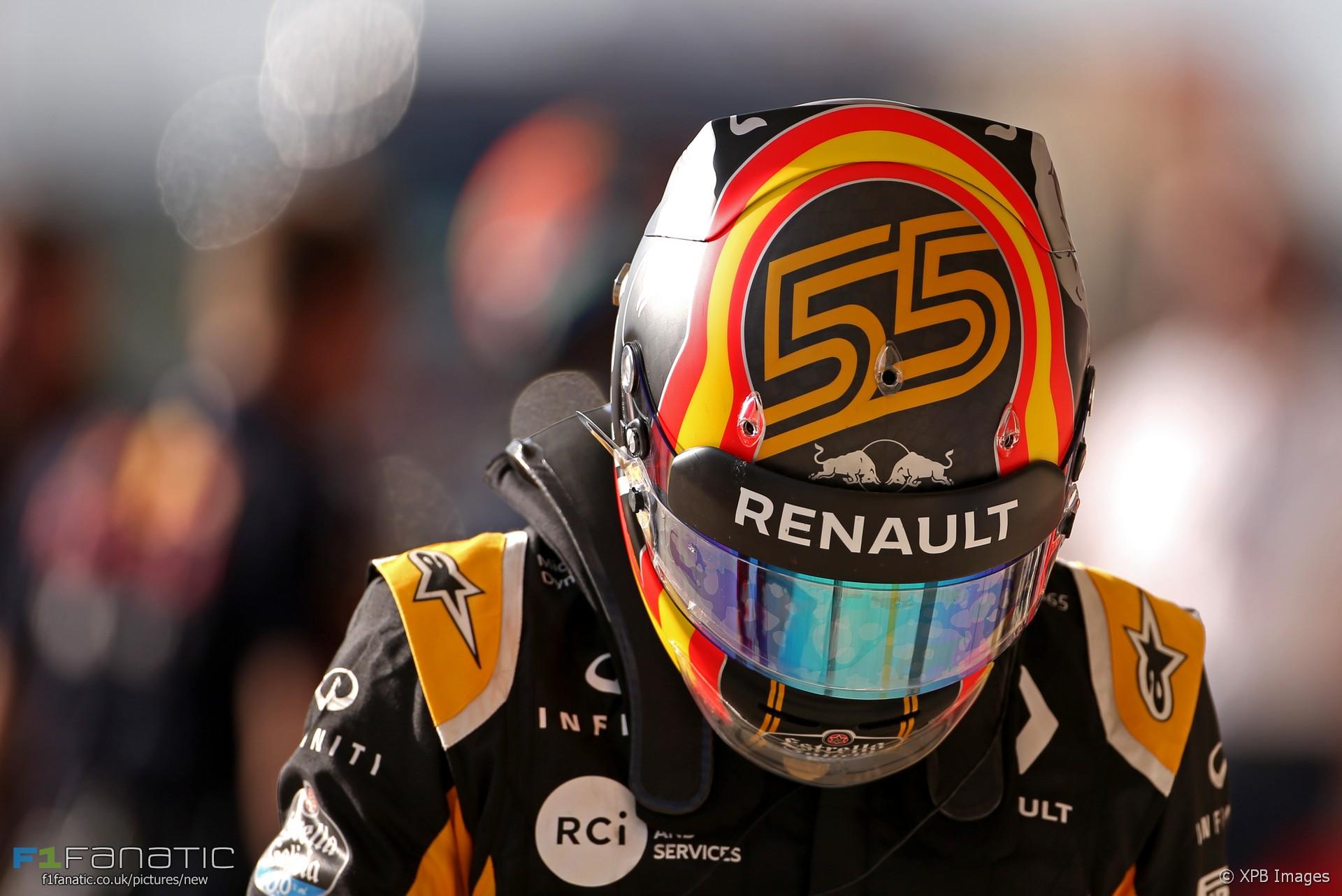 Carlos Sainz Jnr, Renault, Circuit of the Americas, 2017