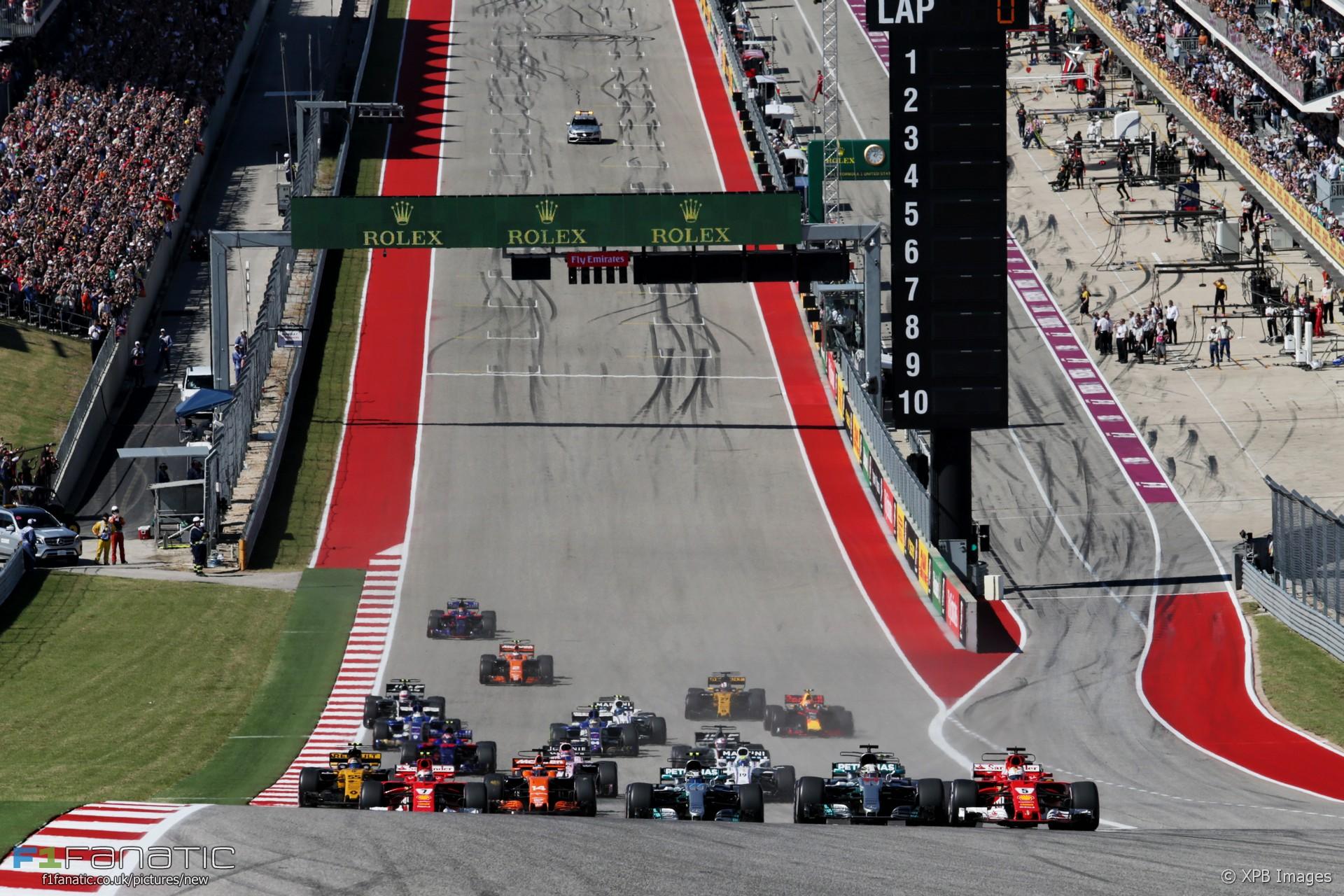 Us Grand Prix >> 2018 United States Grand Prix Race Information Racefans