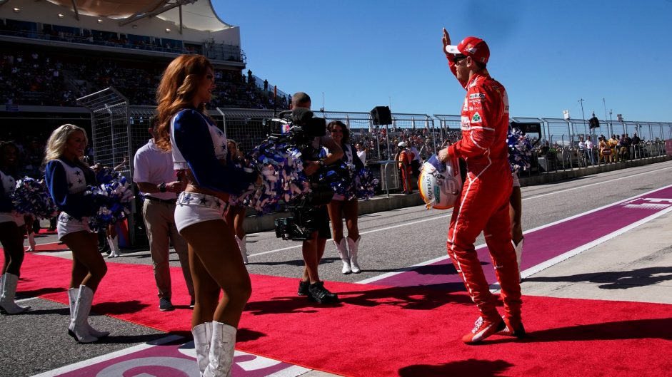 US GP pre-race show wouldn't work in Germany – Vettel